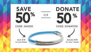 Save 50% or Donate 50%
